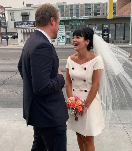 Lily Allen s'est mariée en secret à Las Vegas: les adorables photos de la cérémonie
