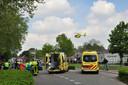 Ongeval in Waalwijk.
