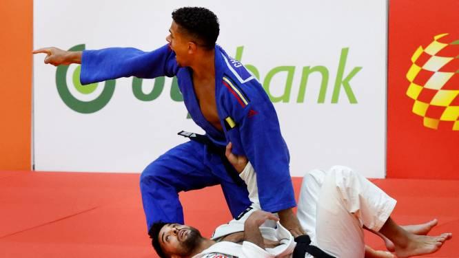 Sami Chouchi verovert brons op Grand Slam judo Tasjkent na Belgisch onderonsje met Matthias Casse