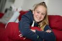 Suzan Jonk  (12) schreef in het Engels aan een oorlogsveteraan.