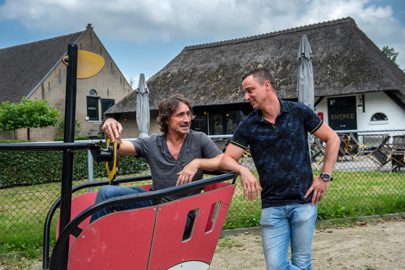 Jeroen van den Heuvel en Sander Castel hebben grootste plannen voor het pannenkoekenhuis: ,,Hier kan veel méér.''