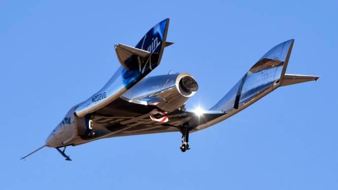 VS verbieden vluchten Virgin Galactic in afwachting van onderzoek naar incident
