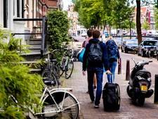 Net zoveel Airbnb-bedden als hotelbedden in Amsterdam