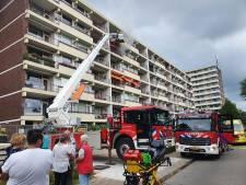 Flatjes ontruimd vanwege brand op zesde verdieping complex in Veenendaal, één bewoner ademt rook in