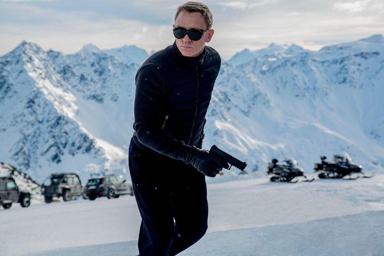 James Bond (Daniel Craig) belandde in het vriesvak na Spectre (2015).  Beeld Alamy Stock Photo