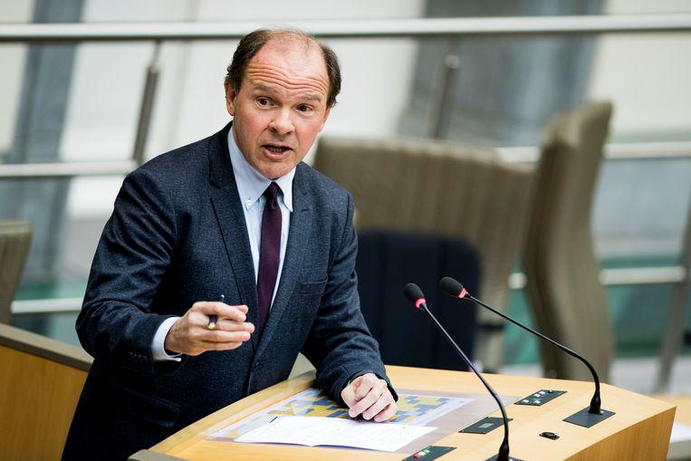 Vlaams minister van Werk Philippe Muyters (N-VA). Beeld BELGA
