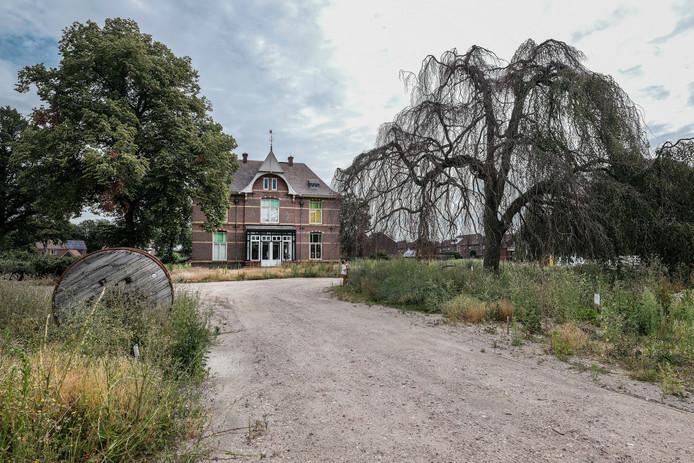 De decennia oude treurbeuk op landgoed Welleveld in Duiven wordt gekapt.
