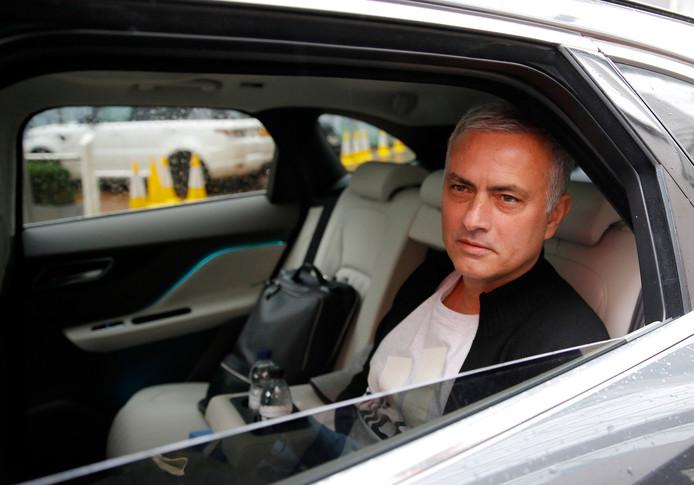 Jose Mourinho na zijn ontslag bij Manchester United.