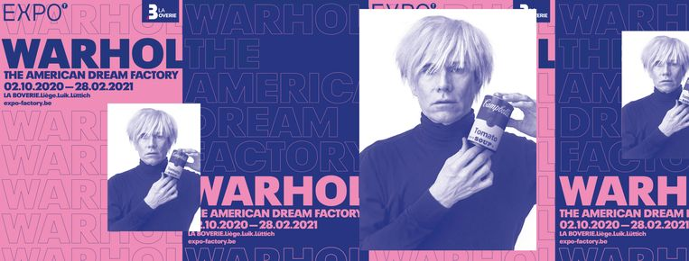 'Warhol, The American Dream Factory' - Museum de la Boverie Beeld RV