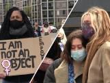 Emotionele demonstratie over veiligheid van vrouwen