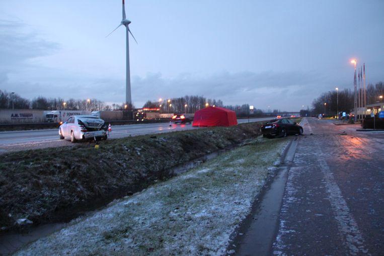 Op de E403 in Oekene vorig jaar was het spekglad, met een dodelijk ongeval tot gevolg.