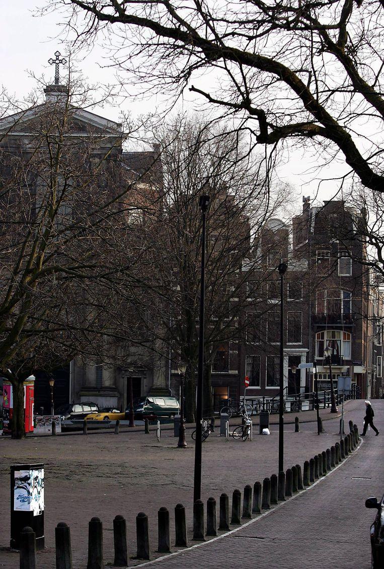 Het afscheid vindt plaats in De Duif op de Prinsengracht Beeld null