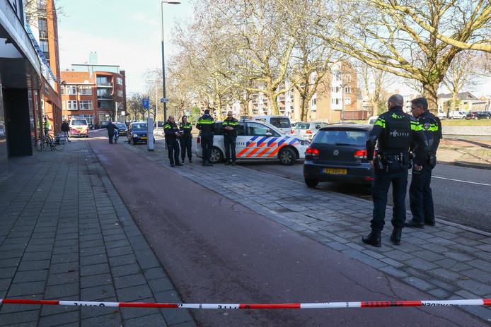 De schietpartij vond plaats aan de Nieuwe Haven ter hoogte van wooncomplex Havenbogen.