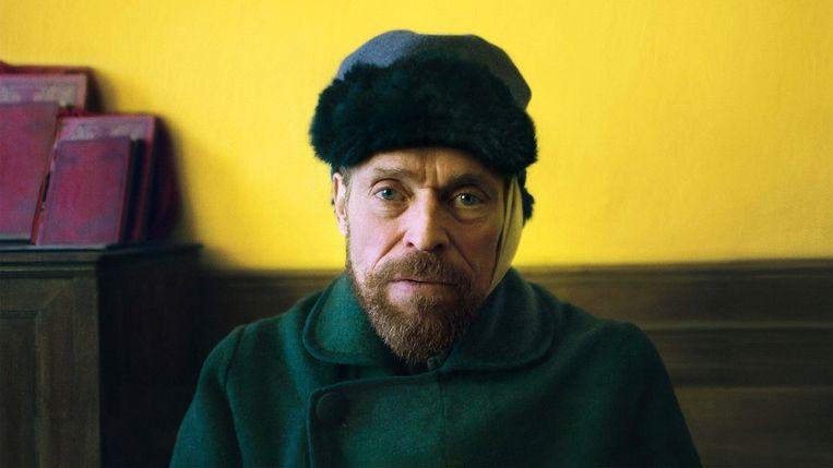 Willem Dafoe als Vincent van Gogh in 'At Eternity's Gate'. Beeld rr