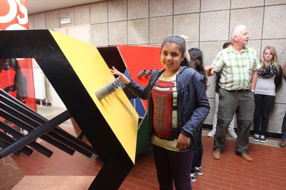 De leerlingen van basisschool Jan Ruusbroec kregen gisteren hun zelf ontworpen muziekmachine te zien.