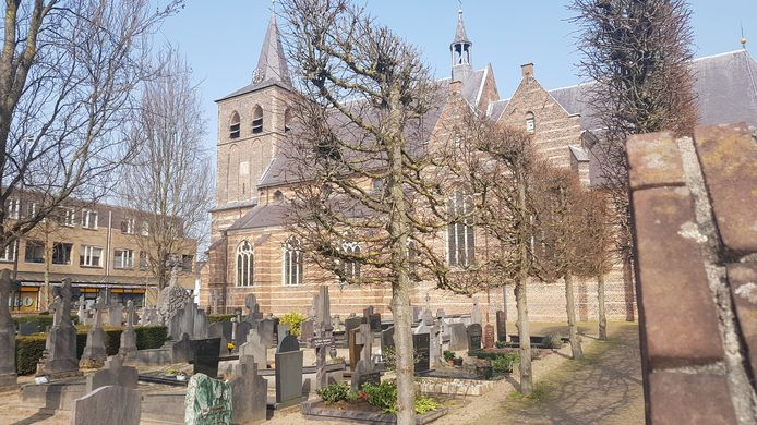 De Sint-Lambertuskerk in Rosmalen.