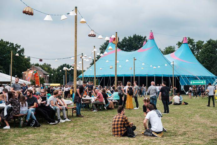 Een beeld van het Absolutely Free Festival in 2019.