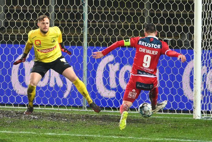 Chevalier scoorde de 0-2.