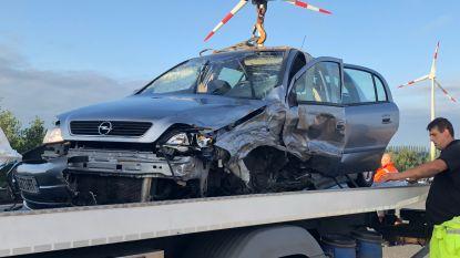 Franse spookrijder botst op tegenligger op de E40 in Gistel