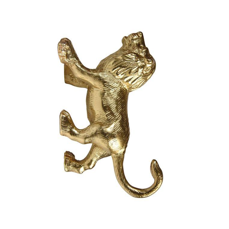 Gouden wandhaak, € 29,95. klevering.nl Beeld null