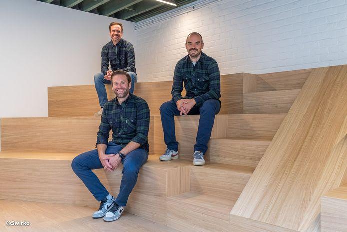 Sven, Jan en Thomas van De Bevoorrading.