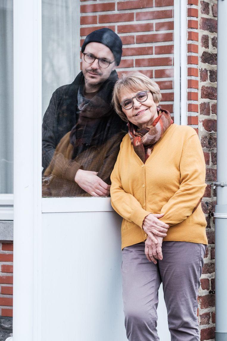 Brigitte: 'Op z'n achtste componeerde hij al zelf een stuk. 'Voor mama', stond erop.' Beeld Bob Van Mol
