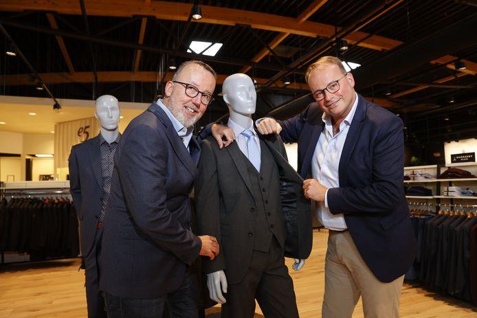 De nieuwe e5-eigenaars: de broers Peter (L) en Kristof De Sutter.