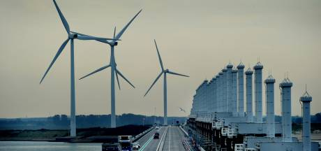 Windmolens bij Oosterscheldekering krijgen twee leven in Toscane