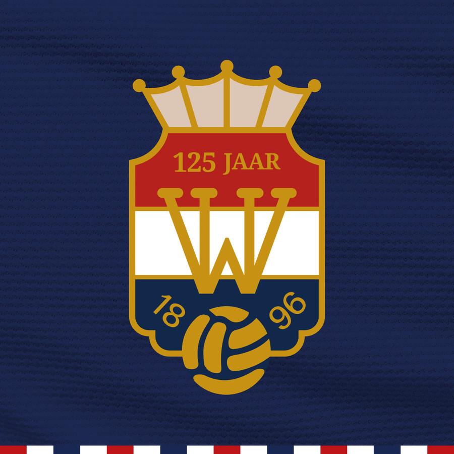 Het logo dat Willem II gebruikt in het jaar waarin het 125-jarig bestaan gevierd wordt.