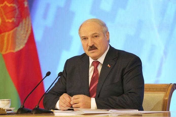 De Wit-Russische president Aleksandr Loekasjenko.
