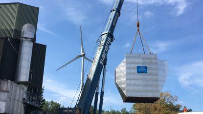 32 ton gaat de lucht in aan IVM-oven