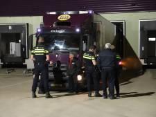 Leverancier Hanos laat per ongeluk alarm afgaan, agenten omsingelen het pand