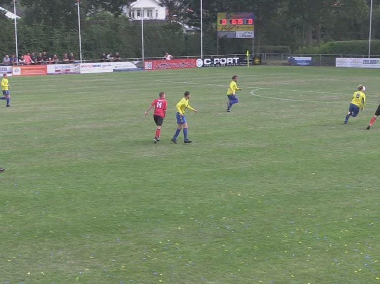 Oostkapelle/Domburg wint voetbalgevecht van Yerseke
