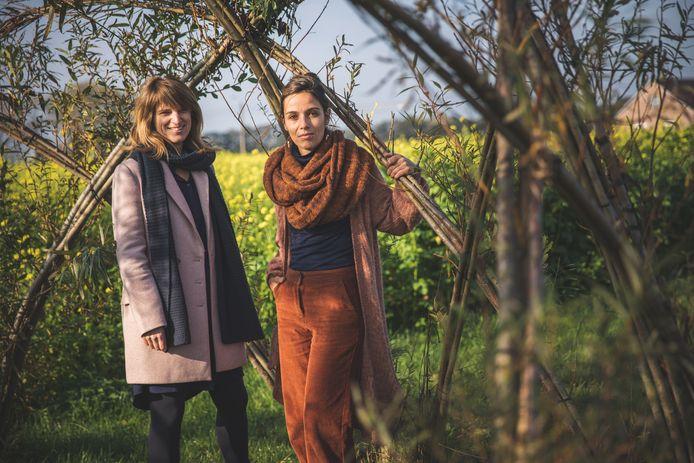 Eva Germeys en Josefien Goethals.