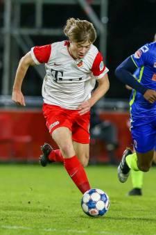 Jong FC Utrecht-speler Pieters kiest voor club van familie en vrienden én voor studentenleven