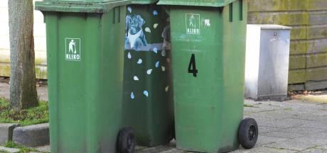 Groene afvalbak vaker geleegd bij wijze van proef
