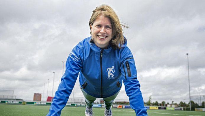 José van Laarhoven wil ouders verleiden met hun kinderen mee te sporten.