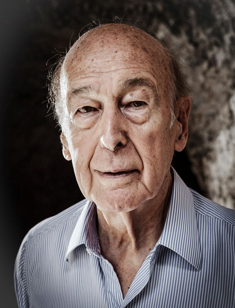 Valéry Giscard d'Estaing in 2012. Beeld Leo-Paul Ridet / Getty