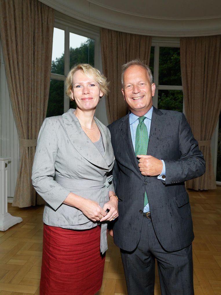 Marleen Barth en Jan Hoekema. Beeld Ivo van der Bent