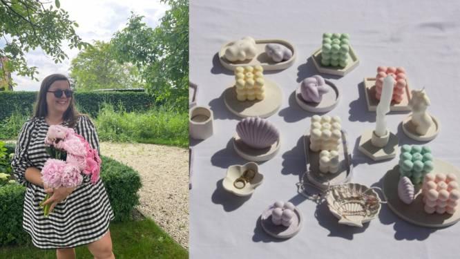 """Ekerse Eline (25) maakt vegan kaarsen waarvan deel van de opbrengst naar goede doel gaat: """"Zelf al veel dierbaren aan kanker verloren"""""""