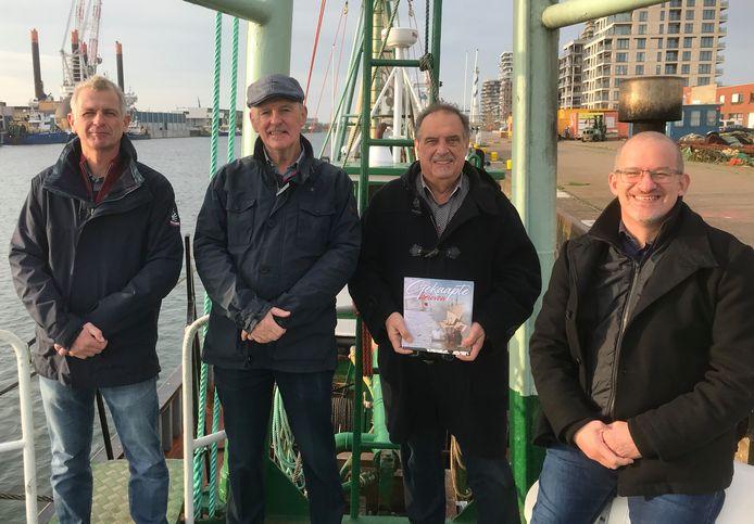 Rudi Clynckemaillie, Marc Loy, Willy Versluys en Rupert Ovenden brengen een boek uit met gekaapte brieven van zeelui uit de 17de eeuw