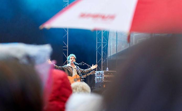 Roosendaal 750 jaar festival Rooskleurig met veel publiek bij Nielson Foto Timo Reisiger
