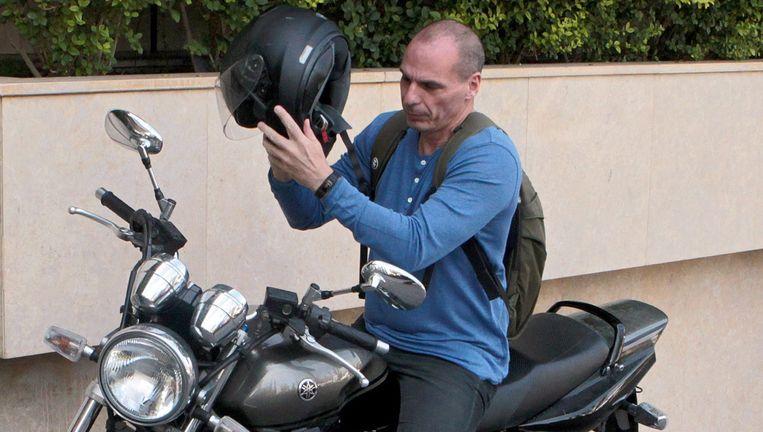De Griekse minister van Financiën Yanis Varoufakis Beeld EPA