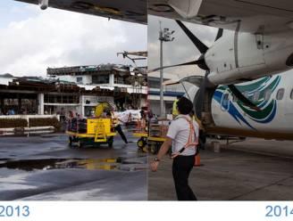 1 jaar na tyfoon Haiyan: indrukwekkende voor-en-na-beelden van onze fotograaf