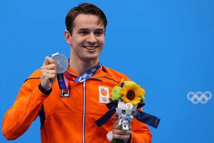Zilver: Arno Kamminga (zwemmen, 200m schoolslag, mannen)