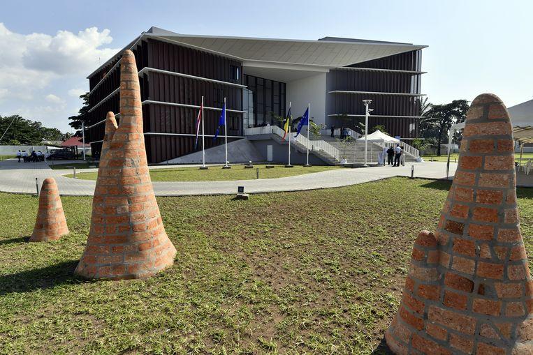 De Belgische ambassade in Kinshasa, vorig jaar geopend.