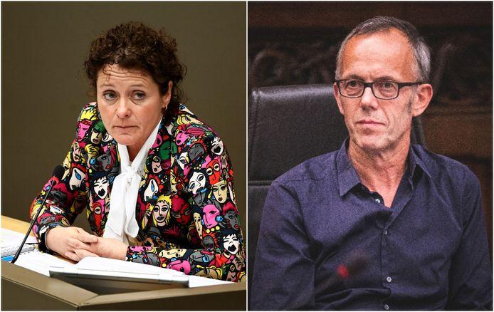 Vlaams minister van Mobiliteit Lydia Peeters (Open Vld) spreekt Gents mobiliteitsschepen Filip Watteeuw (Groen)  stellig tegen.