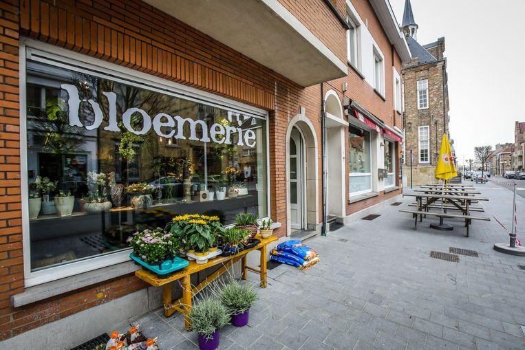 Bloemerie is gelegen in de Langestraat
