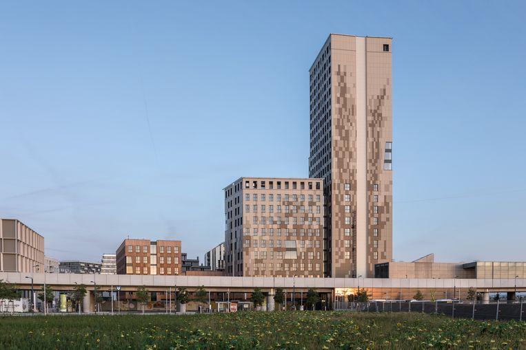 De HoHo-toren in Wenen. Beeld KiTO / Michael Baumgartner