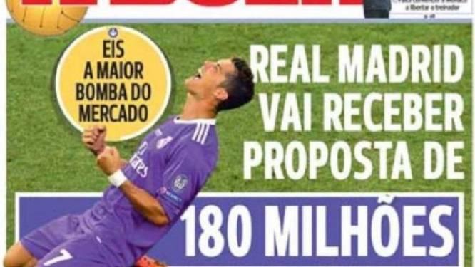 Herbeleef Transfer Talk van woensdag 7 juni, met Real dat monsterbod zou ontvangen voor Ronaldo